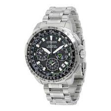 Citizen Promaster Navihawk Black Dial Mens Chronograph Watch CC9030-51E
