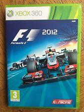 F1 fórmula 1 2012 (sin Sellar) - Xbox 360 Reino Unido Stock Nuevo!