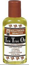 Hollywood Beauty Tea Tree Oil Skin - Scalp Treatment, 2 oz (Pack of 3)