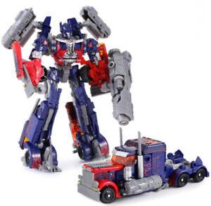 UK Transformers Optimus Prime Mechtech Robots Truck Car Action Figure Kids Toys