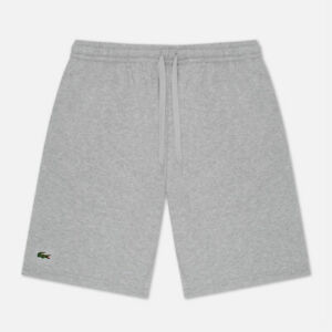 Mens Lacoste Fleece Shorts Casual Cotton Sweat Shorts with Pockets NEW