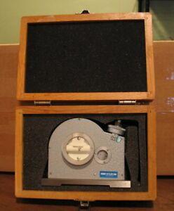 Fowler Wyler Inclinometer 53-635-500 Level Clinometer