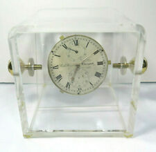 Marine Chronometer Movement by Richard Hornby Liverpool in Display Case No. 920