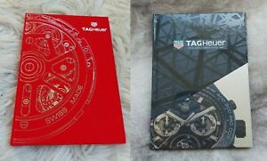 TAG HEUER Catalogues 2 hard cover books 2018 2019 2020 BRAND NEW