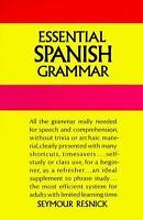 Essential Spanish Grammar Paperback Seymour Resnick