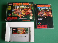 Super Nintendo SNES DONKEY KONG COUNTRY Pal FAH Complet Boite Notice