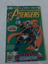 Avengers #196 Marvel Comics 1st Appearance Taskmaster Newsstand Edition Ungraded