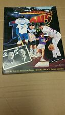 Tampa Bay Devil Rays Official Game Program April/May 1999 vs Boston Red Sox