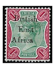 British East Africa 1896 VICTORIA 1 Rupee green and carmine SG.60 Hinged -F573