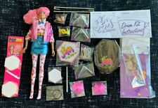 Integrity RAYA Carmen ALONSO JEM & the Holograms RARE doll set drums complete