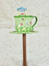 Partylite Garden Gals Garden Stake P8003 - Yard Tealight Holder on a pole Stake