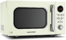 Morphy Richards Accents Cream Microwave 23l Solo 800w 511511