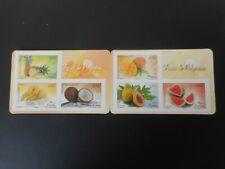 Carnet n° C1023. Flore. Fruits de Polynésie