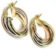 6748b4f97626 Pendientes de joyería de metales preciosos sin piedras aro de oro ...