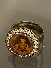 Michal Negrin Girl Crystal Ring (adhustable)