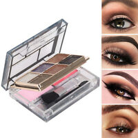 Eyeshadow Palette Blush Cosmetic Shimmer Powder With Stick Face Eye Makeup Tool
