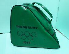 Vintage Innsbruck 1976 Winter Olympics Ski Boot Bag Acceptable Condition