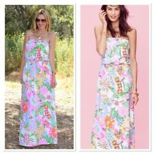 Lily Pulitzer for Target Nosie Posey Maxi Dress Sz S