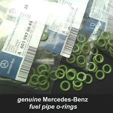 Genuine Mercedes-Benz OM611 612 613 Fuel pipe line Seal O-Ring 6019970645 X6