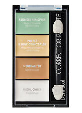 DERMACOL CORRECTOR PALETTE COVER HIGHLIGHTER CAMOUFLAGE FACE EYES EVENS SKIN NEW