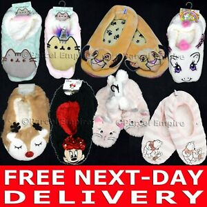 Official FOOTLETS Pusheen Grumpy Cat Harry Potter Chip Pony Slipper Socks Disney