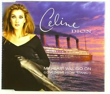 Maxi CD - Celine Dion - My Heart Will Go On (Love Theme From 'Titanic') - A4188