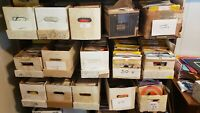Lot Of 100 45 rpm Records rock country soul for arts & crafts 20-40% will play