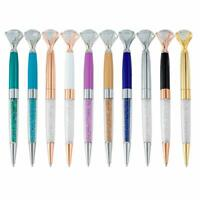 12x Diamond Pen,Sparkly Gifts for Women,Rhinestones Crystal Metal Ballpoint Pens
