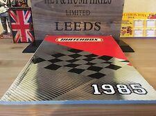 Matchbox Originaler sehr seltener Händlerkatalog Made in England excellent  1985