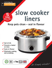Toastabags Slow Cooker Croc Pot Liner Transparent Pack of 25