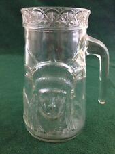 STATUE OF LIBERTY Centennial 1886-1986 Mug Anchor Glass Corp 18oz Keep Torch Lit