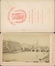 Vassogne, Charleville-Mézières, Pont sur la Meuse, basilique Notre-Dame d'E