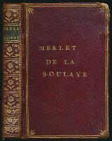 Francois de La Rochefoucauld: Maximes Et Réflexions Morales. (1779).
