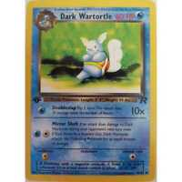 Dark Wartortle  46/82 - 1st Edition- Team Rocket Pokemon - Englisch NM/Mint