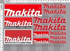 1set makita industrial power tools decal sticker print die-cut household toolbox