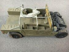 "Hasbro 2003 GI JOE 1/6 Scale 12"" Humvee Armament Carrier for Action Figure Used"