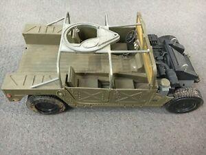 "Hasbro 2003 GI JOE 1/6 Scale 12"" Humvee Armament Carrier for Action Figures Used"