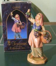 "Fontanini ""Carmi"" The Harvester 5"" Figure (1999) Boxed"