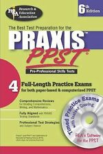 Praxis PPST w/ CD (REA)-The  Best Test Prep for Pre-Professional Skill-ExLibrary