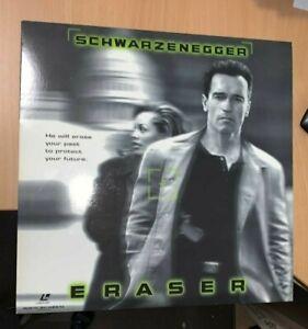 Eraser Laserdisc Arnold Schwarzenegger widescreen