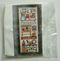 Antiques Sampler Counted Cross Stitch Kit Design Works 87243 Opened Not stitched