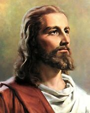 "The Lord Jesus Christ Portrait Art Print 8""x 10"" Christian Photo 3"