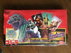 It's Godzilla! 🐊 Amada 1995 Trading Cards Sealed Box Collection 3-D Hologram