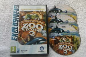 ZOO TYCOON 2 ULTIMATE COLLECTION PC-DVD EXCLUSIVE VERSION  ( all 4 expansions )
