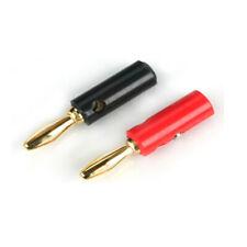 E-Flite EFLA234 Gold Banana Plug Set with Screws
