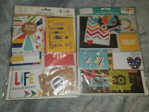 Simple Stories Snap! Journalling Kits X 2