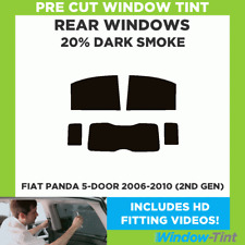 FIAT PANDA 5-DOOR 2006-2010 (2ND GEN) 20% DARK REAR PRE CUT WINDOW TINT