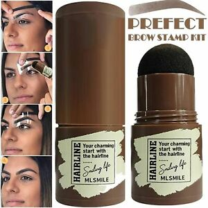 Stamp Eyebrow Definer Brow Stamp Shaping Kit Hairline Shadow Powder Stick