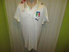 """Italien """"FIGC"""" Nr.431 Puma Auswärts Weltmeisterschaft Trikot 2010 Gr.XL Neu"""