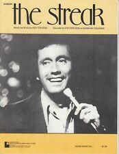 The Streak - Ray Stevens - 1974 US Sheet Music